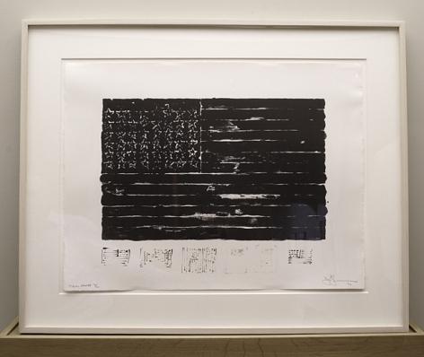 Jasper Johns Flag, 1972 / 1994