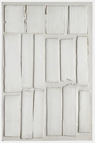 Eleanore Mikus White Relief, 1962