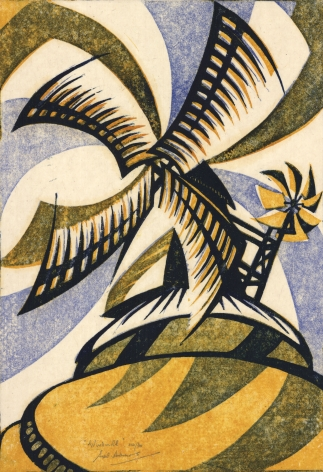 Sybil Andrews,Windmill, 1933.