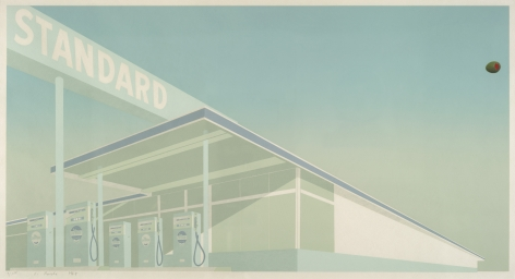 Edward Ruscha Cheese Mold Standard with Olive, 1969