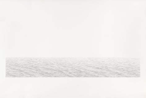 Vija Celmins, Long Ocean #5, 1972.