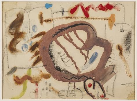 Helen Frankenthaler,21st Street,1951.