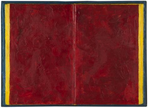 Jasper Johns,Book, 1957.