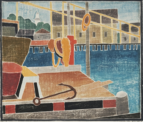 Blanch Lazell The Anchor, 1946
