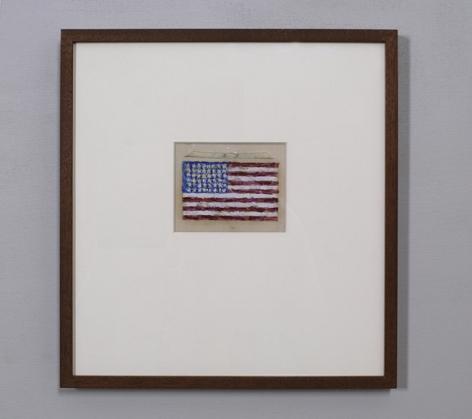 Jasper Johns Untitled, 1955