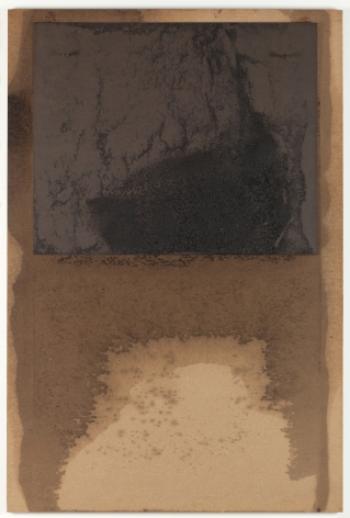 "Dorothea Rockburne, ""D"" Study for Scalar, 1970."