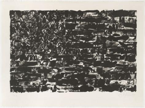 Jasper Johns, Flag I, 1960.