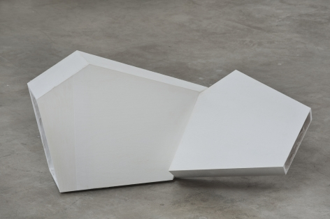 Untitled, 2014 Cast Plaster (GFRG)