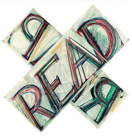 Bruce Nauman,Read/Reap, 1983