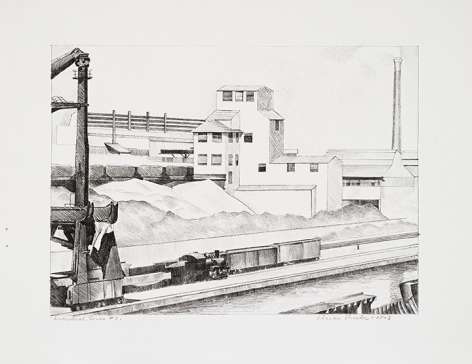 Charles Sheeler Industrial Series #1, 1928