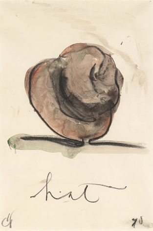 Claes Oldenburg, Hat, 1970.