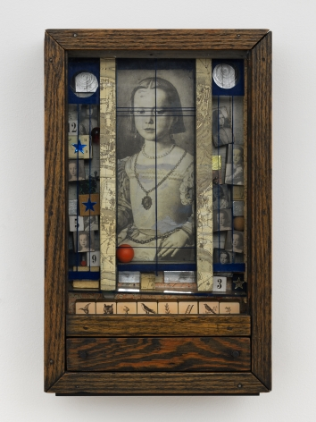 Joseph Cornell Untitled (Medici Princess), 1948