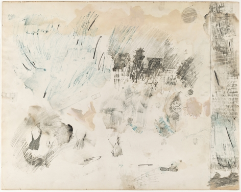Robert Rauschenberg January First, 1962