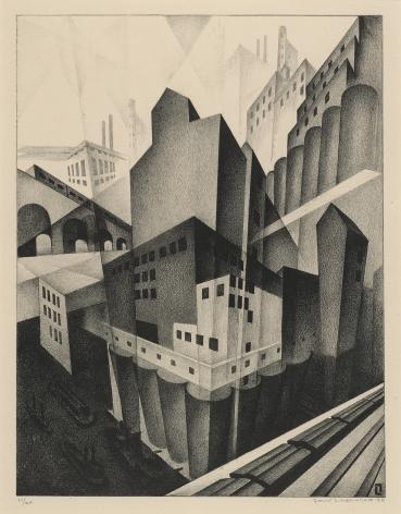 Louis Lozowick,Minneapolis, 1925.