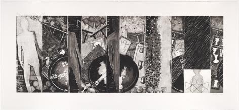 Jasper Johns, Seasons, 1989.