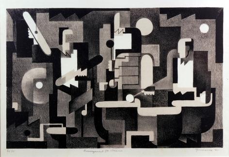 Benton M. Spruance,Arrangement for Drums, 1941.