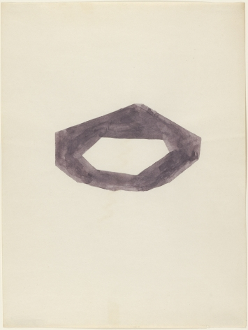 Richard Tuttle, Purple and Shadow, 1972.