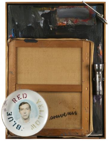 Jasper Johns,Souvenir 2, 1964.
