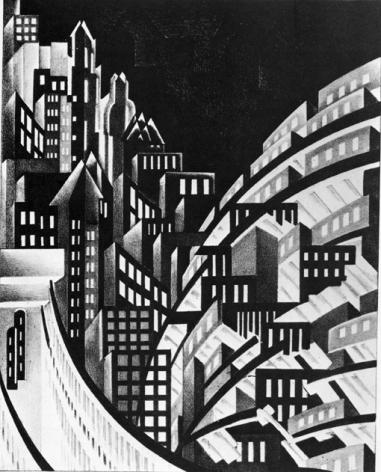 Louis Lozowick New York, 1923