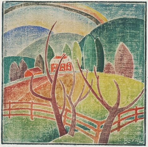 Blanch Lazzell West Virginia Hills, 1930