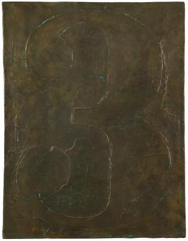 Jasper Johns,Figure 3, 1961 (cast in 2001).