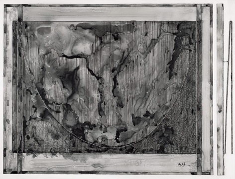 Jasper Johns, Study for a Painting, 2002.