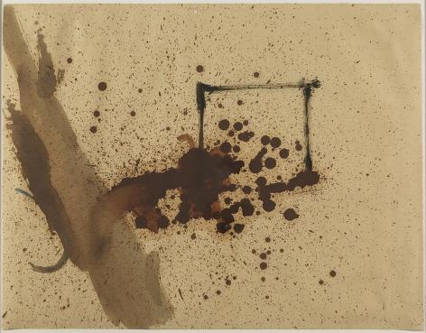 Helen Frankenthaler,Untitled(original for exhibition poster), 1958.