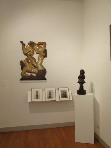 Installation view of our current exhibition, Circus & Vaudeville