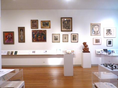 Art & writing by Hartley, Burliuk, Chagall and Picasso; sculpture by Chaim Gross