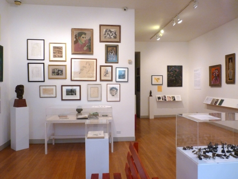 Drawings & writings by sculptors: Zorach, Moore, Liphchitz and Epstein