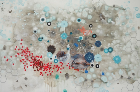 PATTERSON, Heather_Particle_mixed media on panel_43x65