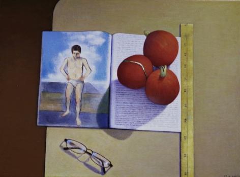 DAMIANO-Frank_Pomegranates and Cezanne_24x18