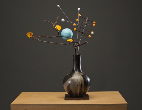 ANDERSON-David Kimball_Winter_bronze, steel and paint_31x24x12 inches_s