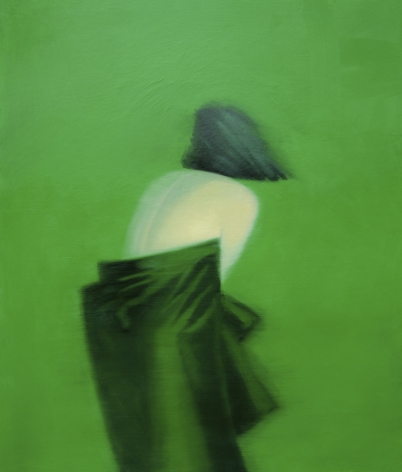 GREENBERG-Sheldon_Untitled, Emerald_ 48x41