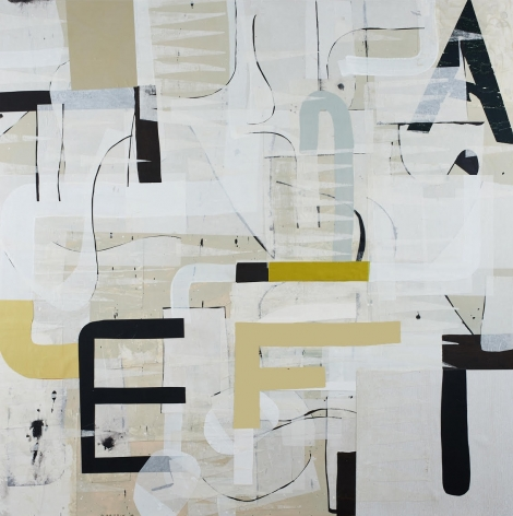 HARRIS-Alfred_Sheerwater_acrylic and silk on paper on panel_48x48