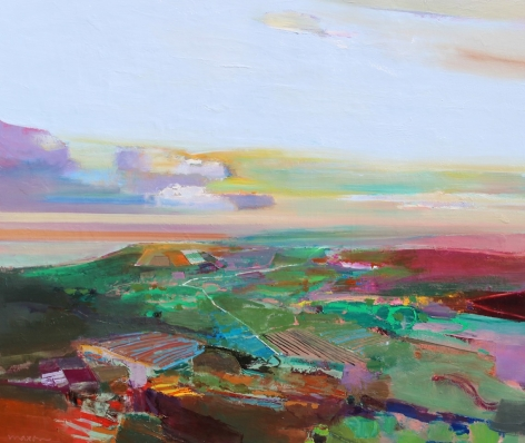 MAXON-John_Pathway_oil on canvas_46x58 inches
