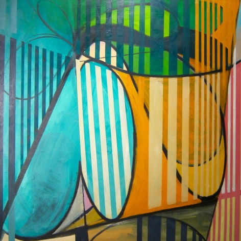 GREENBERG-Sheldon_Palmpool_oil on canvas_65x65