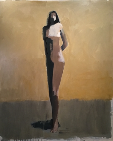 CHASE-Jamie_Standing Figure_acrylic on canvas_60x48 inches