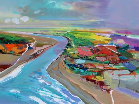 MAXON-John_Impress_oil on canvas_36x48 inches