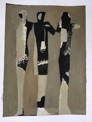 CHASE-Jamie_Three Graces_acrylic on paper_26x22