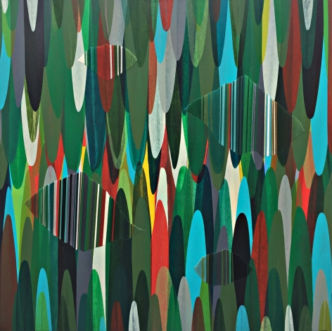 DE LA TORRE- Raul_POEMES LXXIII - A BIRCH TREE PLANTED TWENTY YEARS AGO,_COMES BETWEEN THE IRISH SEA AND ME_48x48