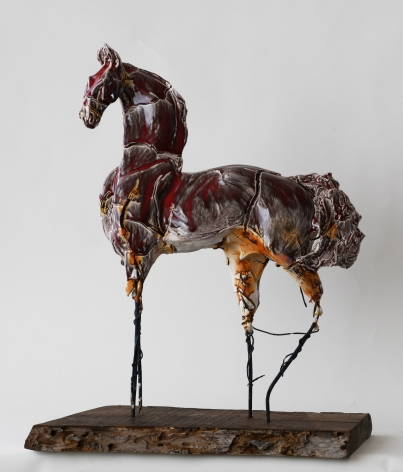 DAHL-Carl_Dream Horse in Red_16x22x8_s