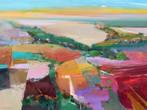 MAXON-John_X-Factor_oil on canvas_36x48 inches