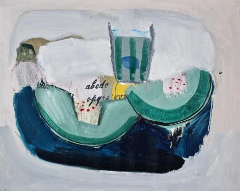 HOGARTH LAFAYE-Delphine_Fresh water_16x20