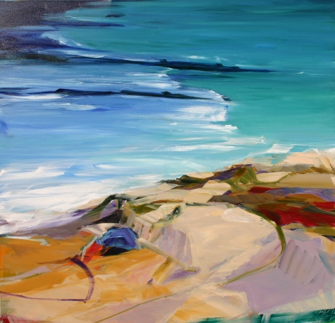 RAINFORTH, Barbara_Viridian Tides III_36x36