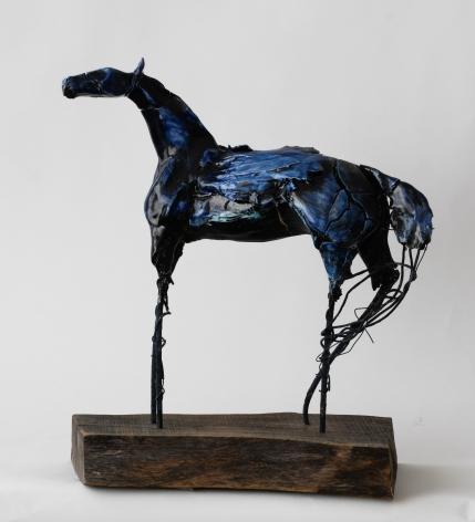 DAHL-Carl_Small blue pegasus_12x16x8_s