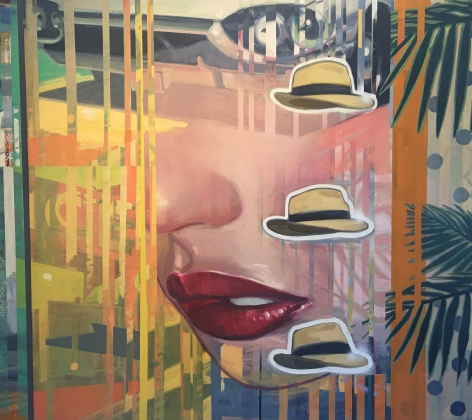 GREENBERG-Sheldon_Gregory Pecks Hat_60x68