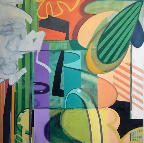 GREENBERG-Sheldon_Untitled_oil on canvas_65x65