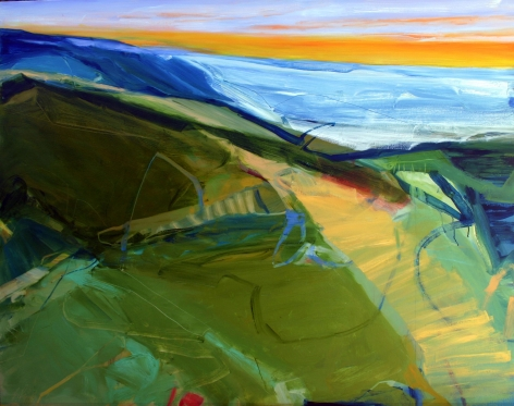 RAINFORTH, Barbara_Spring Horizon_48x60_s