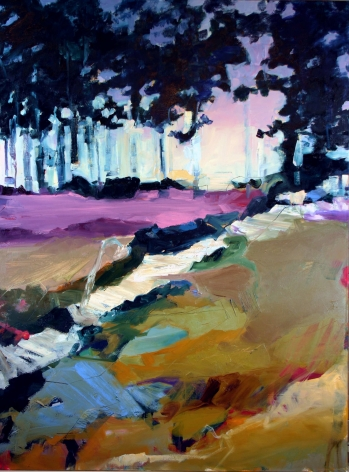 RAINFORTH, Barbara_Dancing with the Dawn II_40x30
